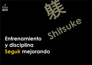 Shitsuke - Seguir mejorando