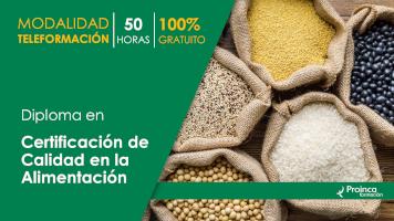 curso certificacion calidad alimentacion