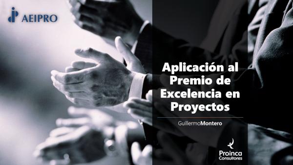 Aplicación al Premio de Excelencia en Proyectos